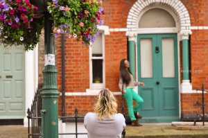 Making off of Aline Sene shooting Caroline Mota | Dublin - Ireland | May 2014